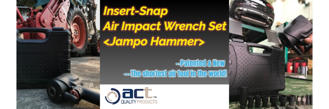 Insert-Snap Air Impact Wrench