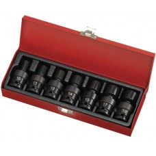 "7PC 3/8""Dr. Impact Universal Socket Set (MM)"