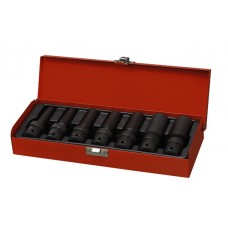"7PC 1/2""Dr. Deep Impact Universal Socket Set (SAE)"