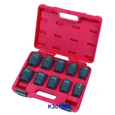 "10PC 3/4""Dr. Duometric Impact Socket Set"