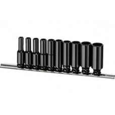 "10PC 1/4""Dr. Deep Impact Socket Set (SAE)"