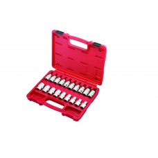 "19PC 1/2""DR. STAR-E SOCKET & TX-STAR BIT SOCKET SET"