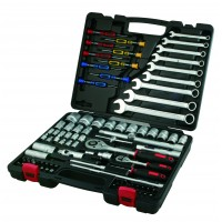 "93PC 1/4""DR. & 1/2""DR. SOCKET SET & WRENCH SET"