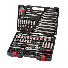 "113PC 1/4""DR. & 1/2"" DR. SOCKET SET (WITH COLOR RING)"